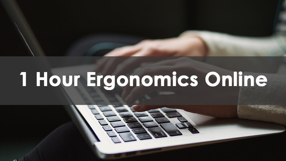 1 Hour Online Ergonomics Training Course